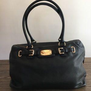 Michael Kors Hamilton Black Weekender Bag